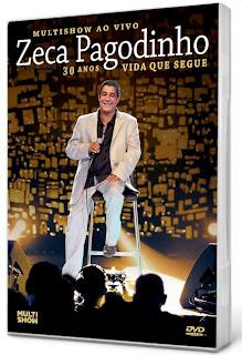 DVD Zeca Pagodinho - 30 Anos Vida que Segue AVI-DVD-R (2013)