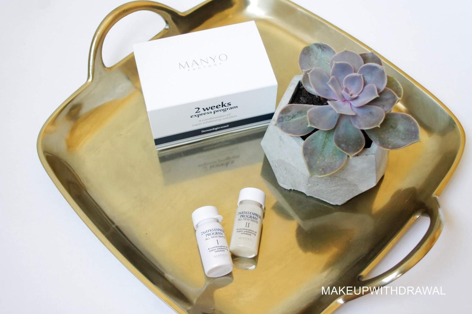 Manyo Factory 2 Week Express Program Makeup Withdrawal Bloglovin Pureheals Galactomyces 90 Ampoule 30ml