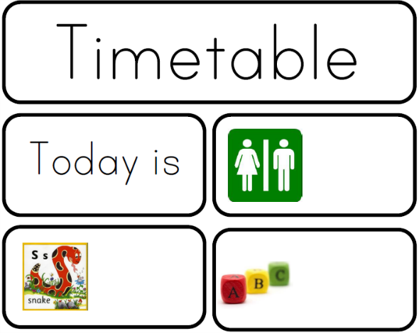 Visual Timetable Cards - one of the most effective tools in early childhood. Why and how to use one at home or in the classroom | you clever monkey