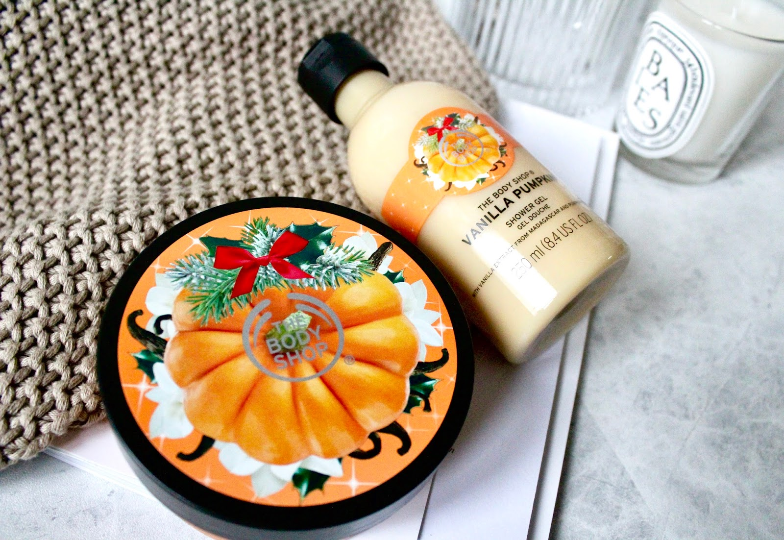 The Body Shop Vanilla Pumpkin Range