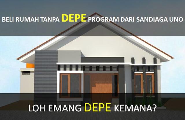 Beli rumah tanpa DePe