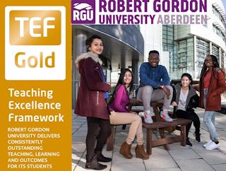 Robert Gordon University, Scotland, top University for graduate employment in the UK.  Meet us in Lagos, Abuja & Kano