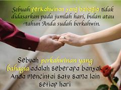 Kata Bijak Pernikahan Celoteh Bijak