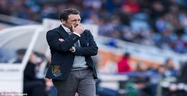 Manager Real Sociedad Di Pecat Usai Dikalahkan Las Palmas