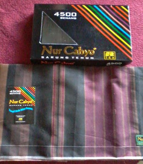 Sarung Tenun Nurcahyo 4500