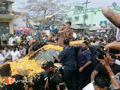 Pawan Kalyan at Ichapuram Jansena meeting photos-thumbnail-13