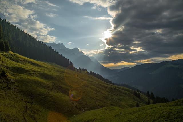 Almwanderung zur Hochkaseralm  Wandern Hochkönig  Wanderung SalzburgerLand 03