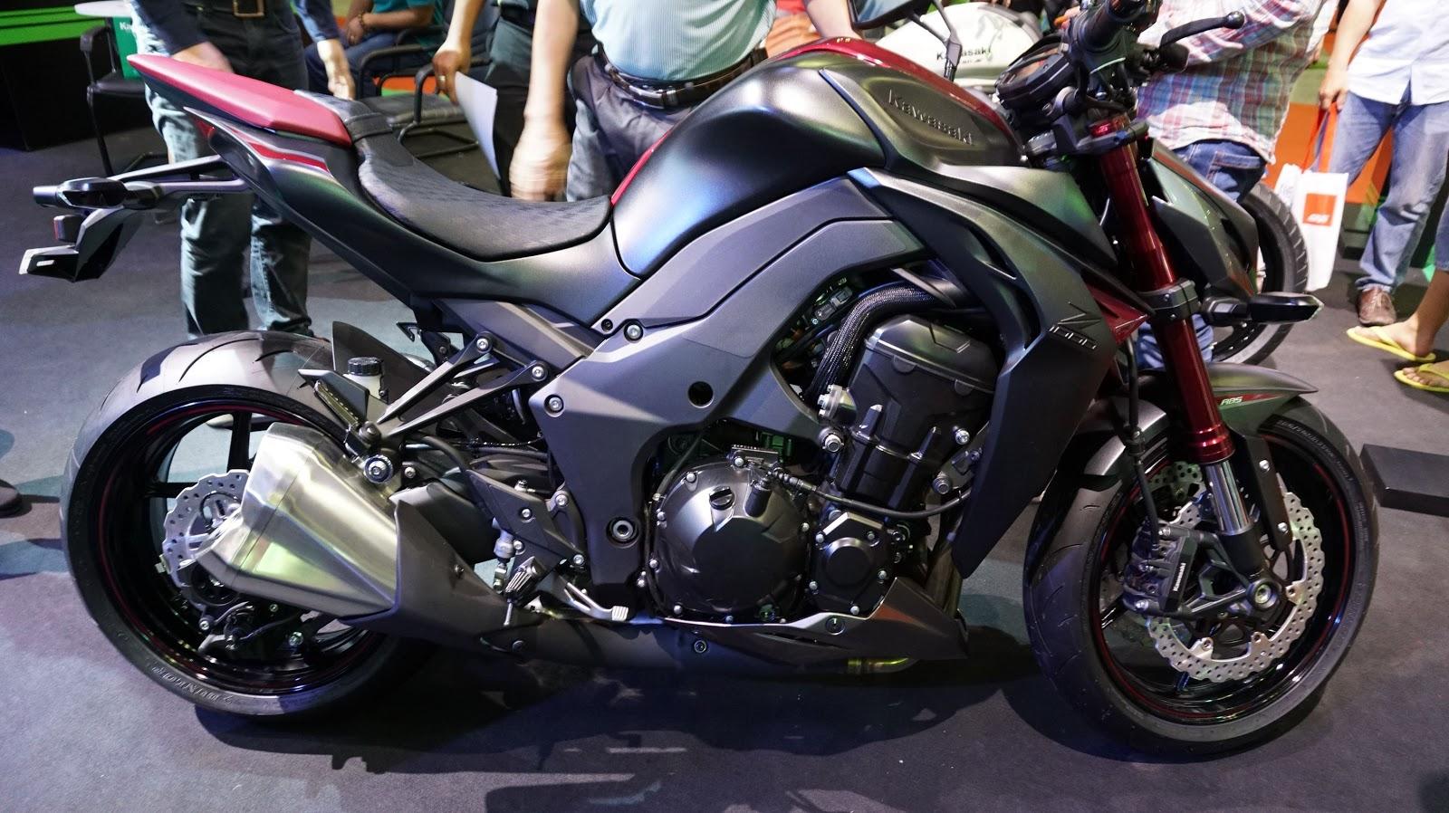 Tia chớp đường phố Kawasaki Z1000 ABS đã chính thức xuất hiện tại Việt Nam