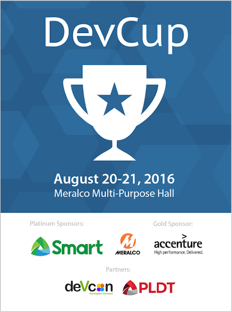 Pawprint Stamped:  WebGeek DevCup Hackathon 2016 Registration Starts July 18th