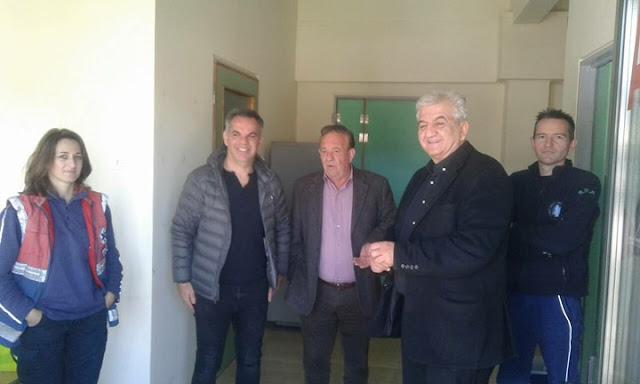 Επίσκεψη του αντιπροέδρου του ΕΚΑΒ στην Πρέβεζα και στον τομέα  Παραμυθίας.