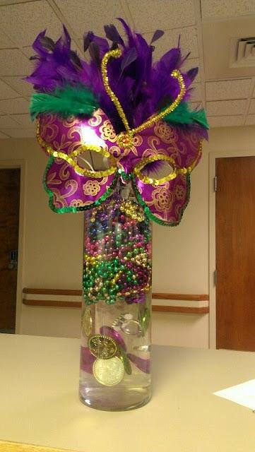 Centros de Mesa para Fiesta de 15 Años con temática de carnaval