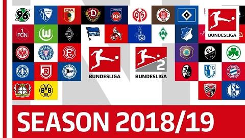 Bundesliga quy tụ những đội bóng đỉnh cao