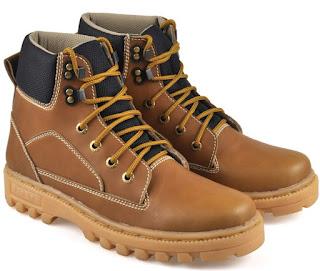 Daftar Harga Sepatu Boots Casual Pria
