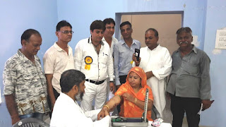प्रतापनगर सिंधी पंचायत द्वारा चिकित्सा शिविर आयोजित
