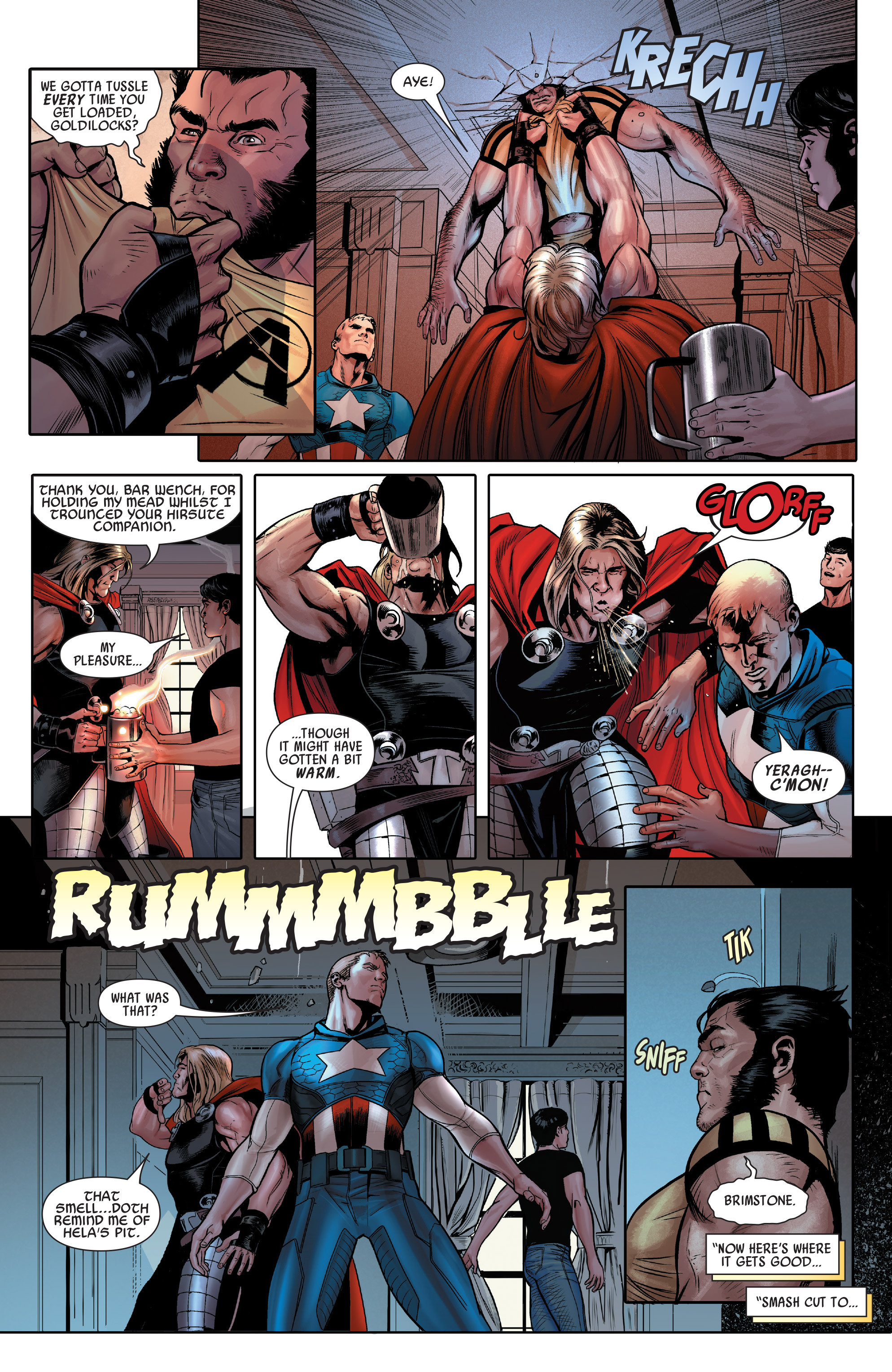 Read online Uncanny Avengers (2012) comic -  Issue # Annual 1 - 9