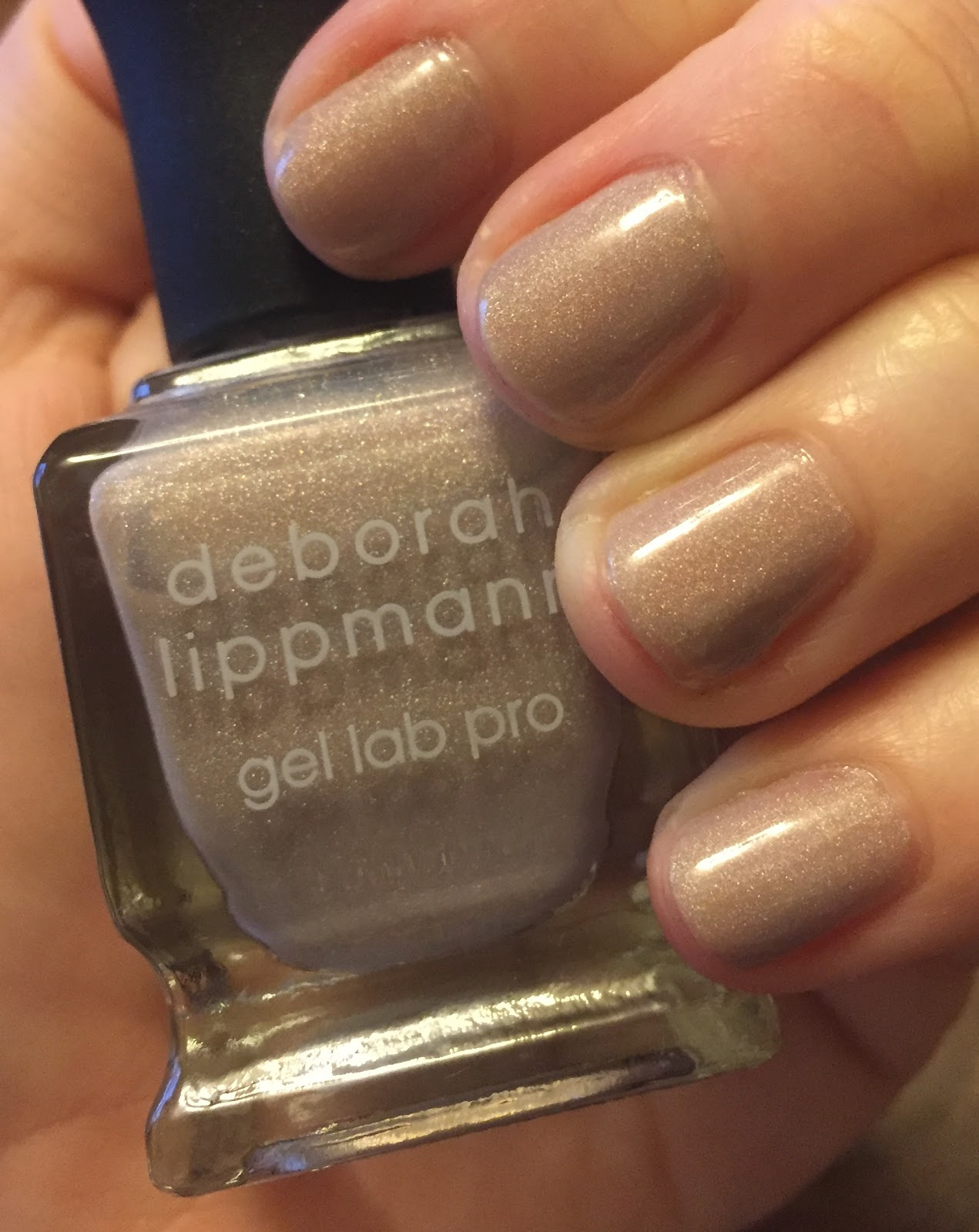 The Beauty of Life: #ManiMonday: Deborah Lippmann Dirty Little ...