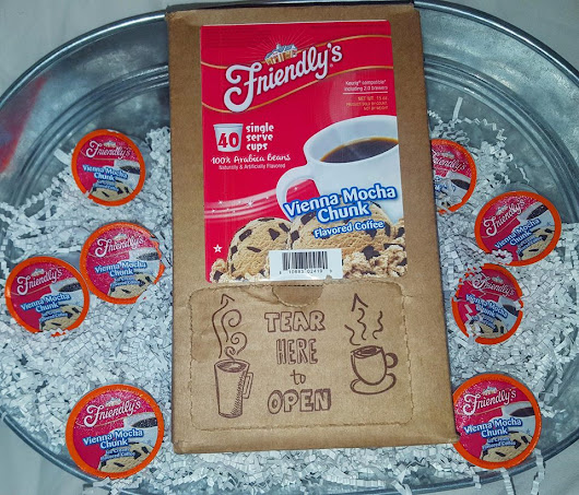Warm up with Friendly's Vienna Mocha Chunk K-Cup Giveaway - ends 4/2!