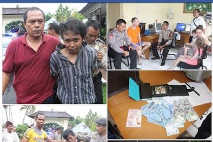Polres Klungkung Berhasil Menangkap pelaku Pencurian dengan Modusl Coblos Ban