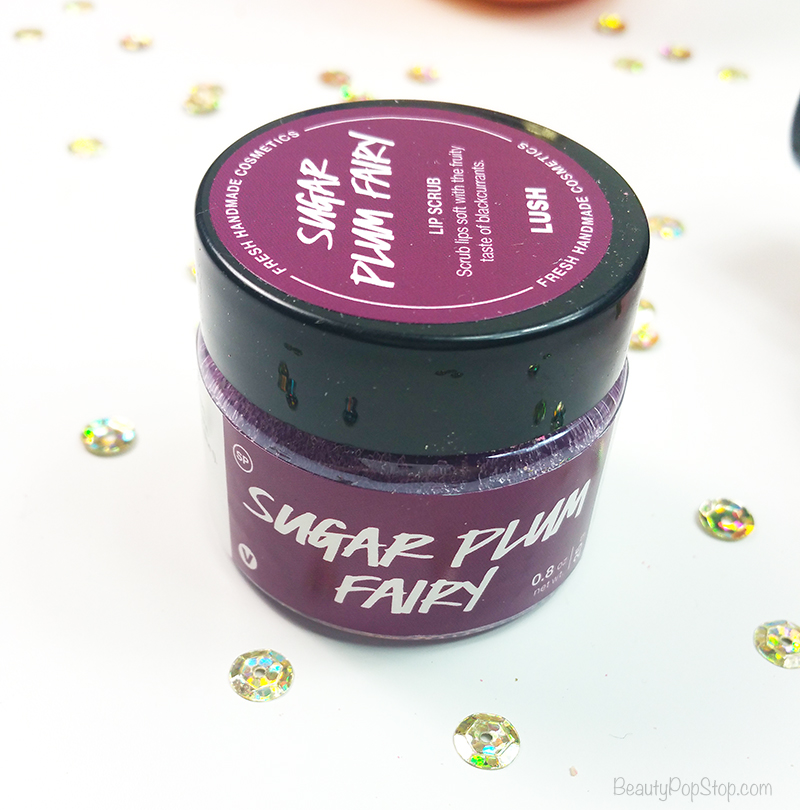 gift guide 2016 lush cosmetics lip scrub sugar plum fairy review