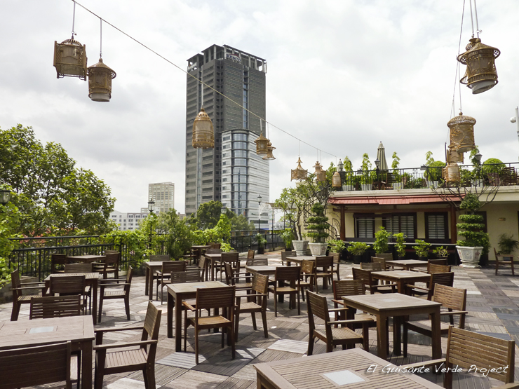 Terraza del Hotel Rex Saigon - Ho Chi Minh City, Vietnam