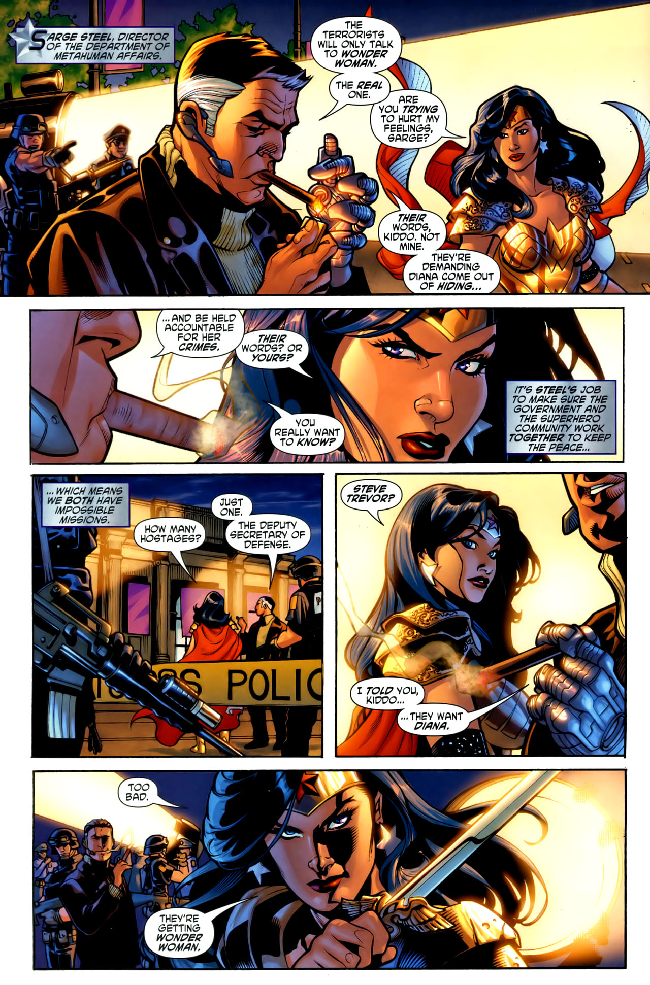 Read online Wonder Woman (2006) comic -  Issue #1 - 5