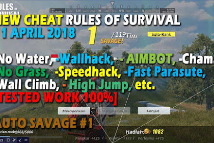 Cheat Rules of Survival Glutamin 1.0 Update 11 April 2018 [ Hot After Maintenance ]