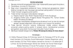 Lowongan Kerja PD Taman Satwa Kebun Binatang Surabaya