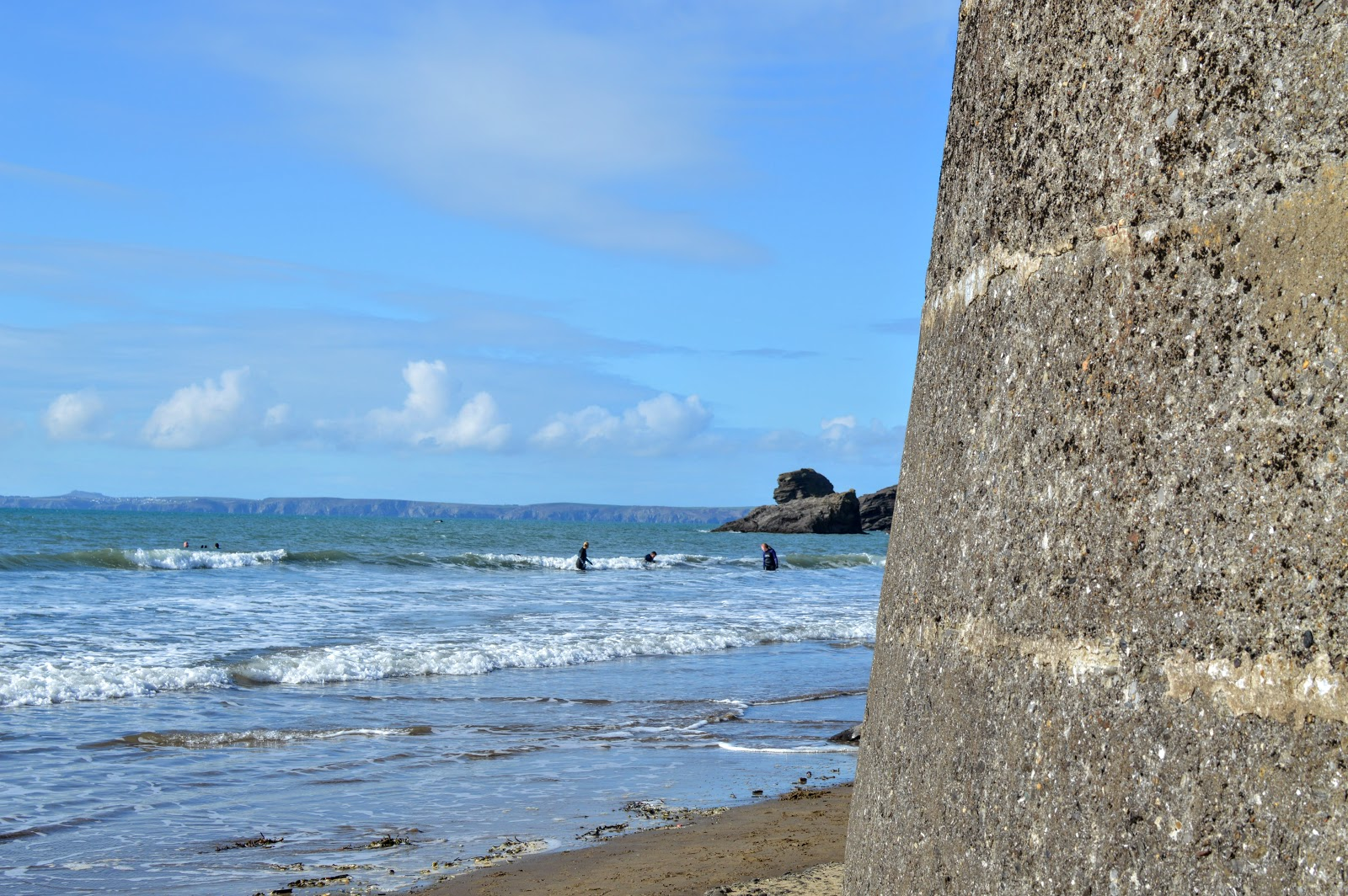 Free Days Out Pembrokeshire Broad Haven Beach