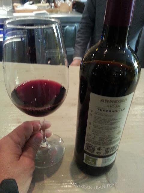 Arnegui 2016. Tinto Joven Rioja en Restaurante La Cabra