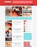 RisenMagz - Responsive and Mobile Friendly for Magazine Blogger Template
