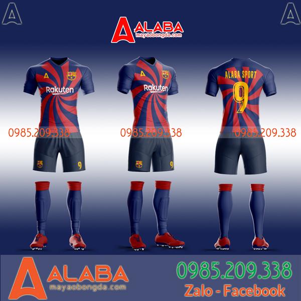 Áo Barca tự thiết kế mã ALB BA02 đẹp