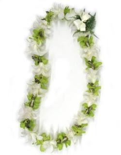 kalung bunga selamat datang