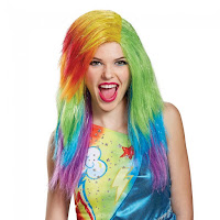 My Little Pony the Movie Rainbow Dash Adult Wig