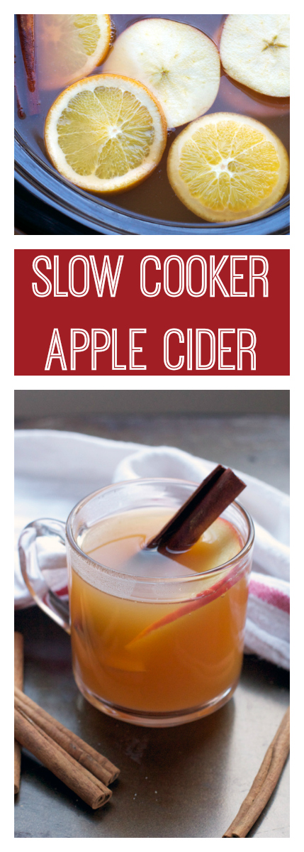 Slow Cooker Apple Cider || A Less Processed Life