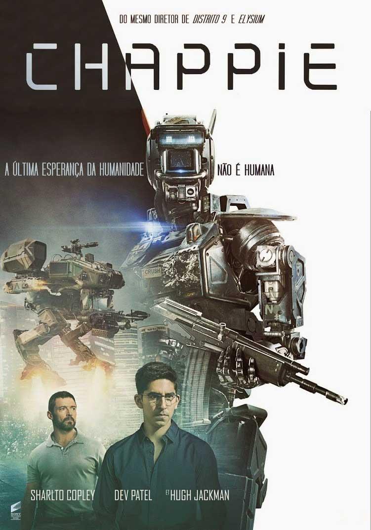 Chappie Torrent – Blu-ray Rip 720p e 1080p Dual Áudio (2015)