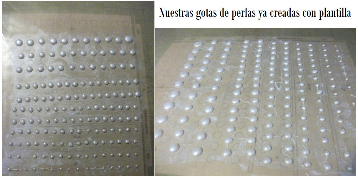 gotas de silicona caliente, decoración, manualidades, perlas, diys