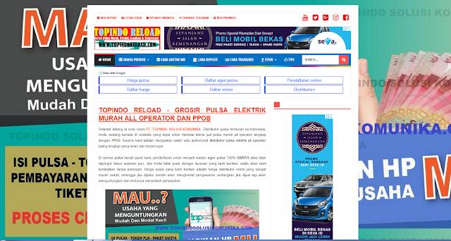 Cara Mendapatkan Fasilitas Web Pemasaran Gratis di Topindo Solusi Komunika