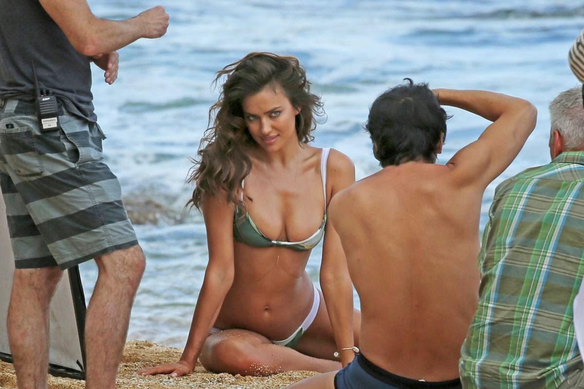 Irina Shayk  Sports Illustrated 2014 Naked Photoshoot -6130