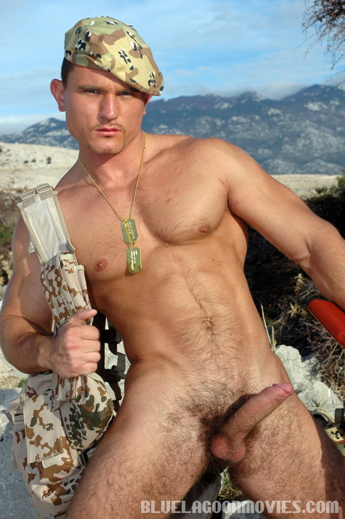 Army gay man nude