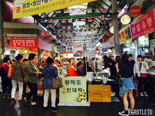 [Seoul,Korea] Insadong street & Gwangjang Market,Seoul  (Day 5)