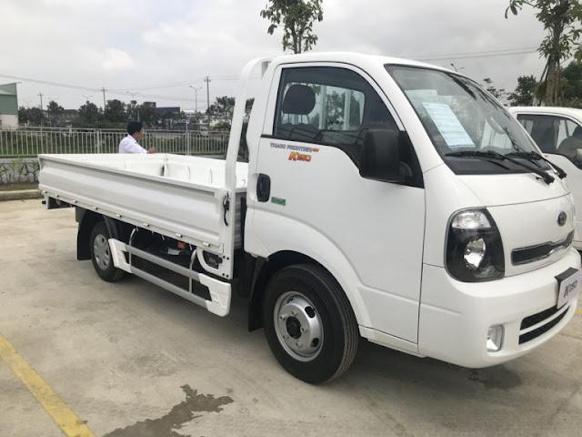 Ngoại hình xe tải trường hải 2,4 tấn K250