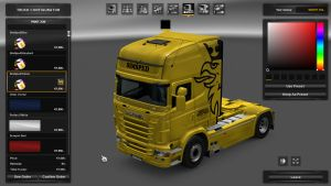 SimŠped Skin Pack for Scania RJL