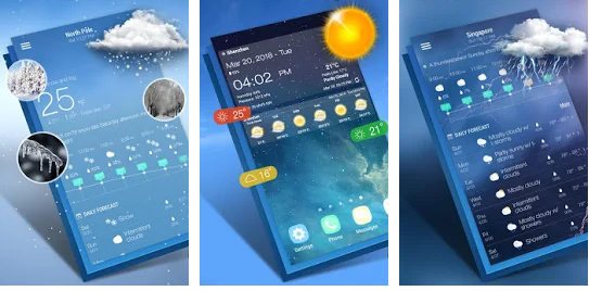 Top Aplicativo para Previsão do Tempo