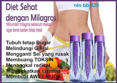 √ Manfaat Air Milagros Untuk Menurunkan Berat Badan