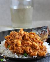 Nigerian Egg Stew , egg sauce , scrambled eggs in tomato sauce