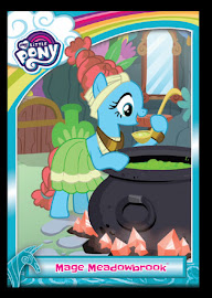 My Little Pony Mage Meadowbrook Series 5 Trading Card