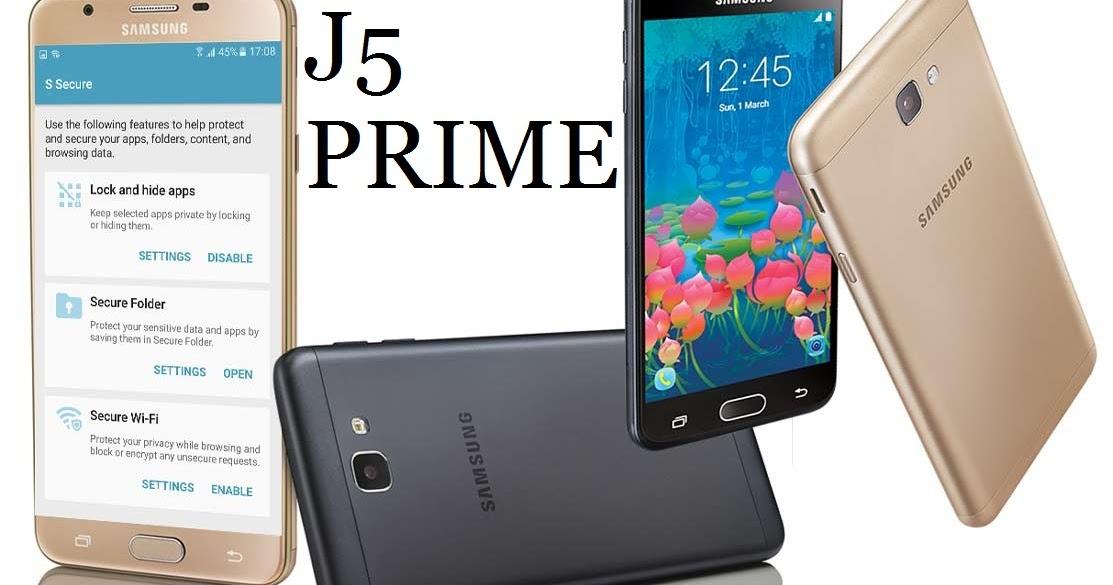 Samsung Galaxy J5 PRIME SM-G570F CERT & NV DATA FILE ...