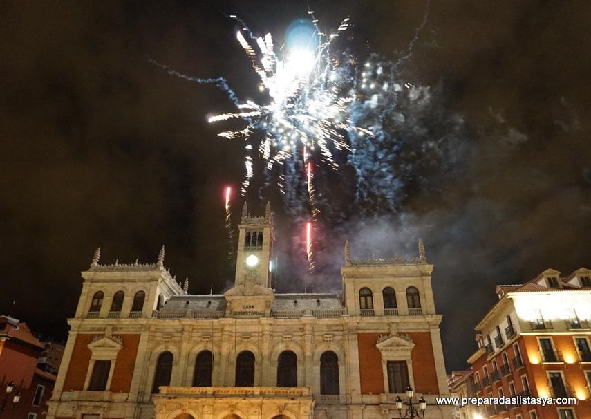 Fuegos artificiales Valladolid