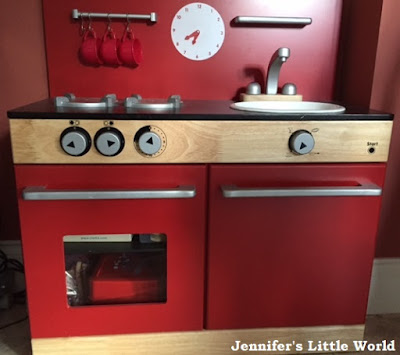Wooden toy kitchen from John Lewis