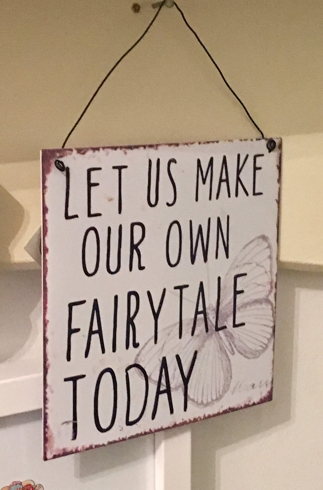 Let's make our own fairy tale today